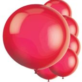 Red Jumbo Latex Balloons – 91cm – Pack of 6