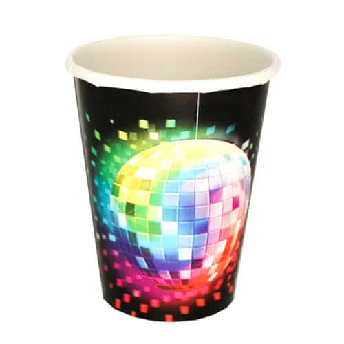 Disco Party Paper Cup - 266ml Bundle Product Image