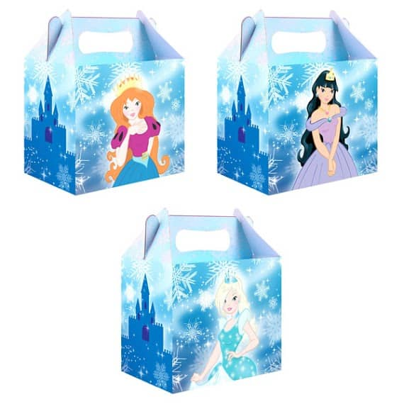 Ice Princess Meal Box