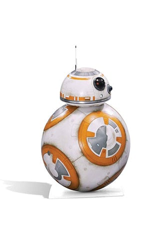 Star Wars BB-8 Lifesize Cardboard Cutout - 94cm Product Gallery Image