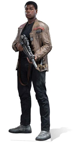Star Wars Finn Lifesize Cardboard Cutout - 178cm Product Gallery Image