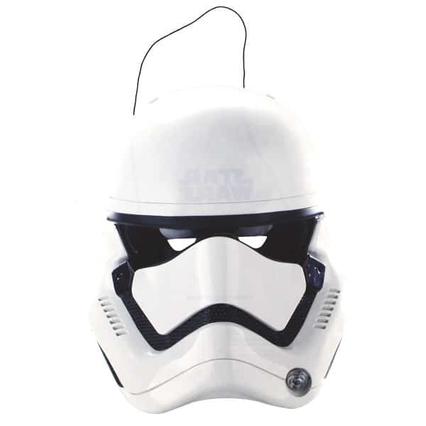 Star Wars Force Awakens Stormtrooper Cardboard Face Mask Product Image