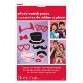 Valentine Photo Prop Accessories – Pack of 10