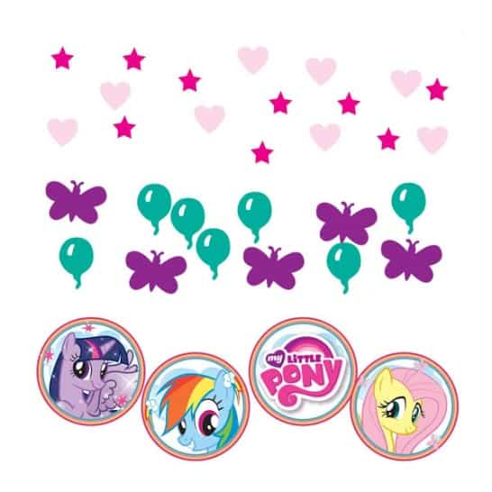My Little Pony Confetti - 34 Grams - Pack of 3