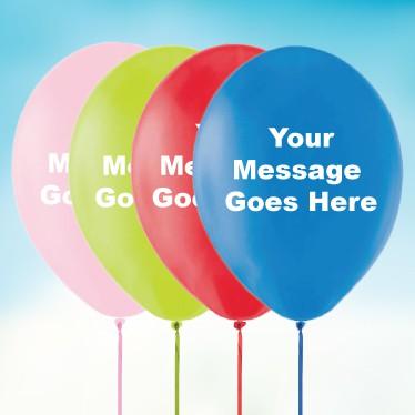 Personalised Latex Balloons