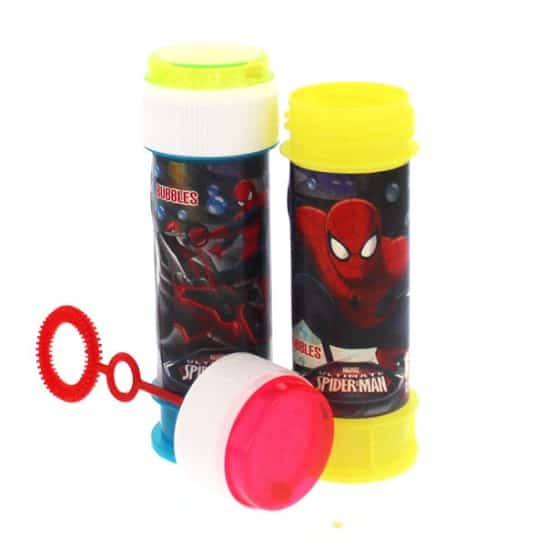 Spiderman Bottle Bubbles - 60ml