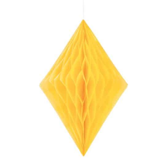 sunflower-yellow-diamond-honeycomb-hanging-decoration