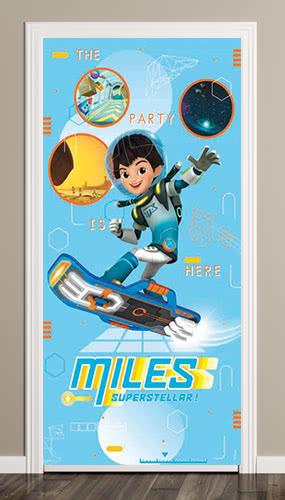 Miles From Tomorrow Door Poster