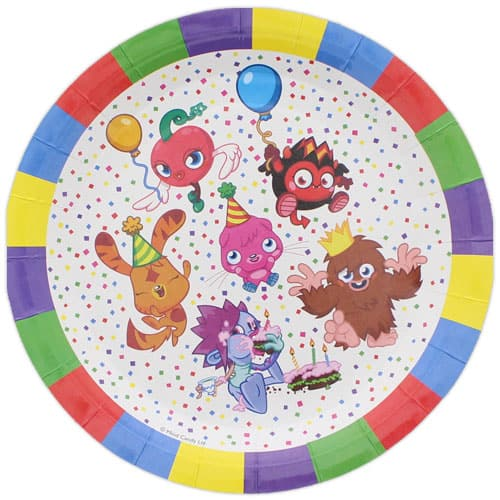 moshi-monsters-round-paper-plate-23cm-product-image