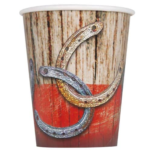 Rodeo Western Paper Cup - 270ml Product Image