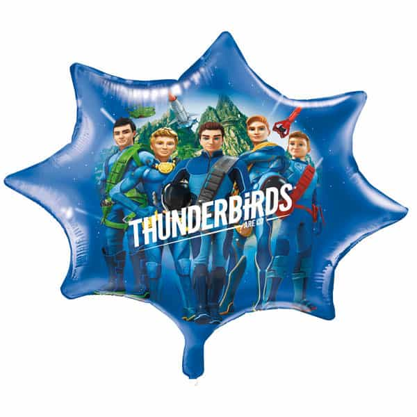 Thunderbirds Helium Foil Giant Balloon 71cm / 28 in