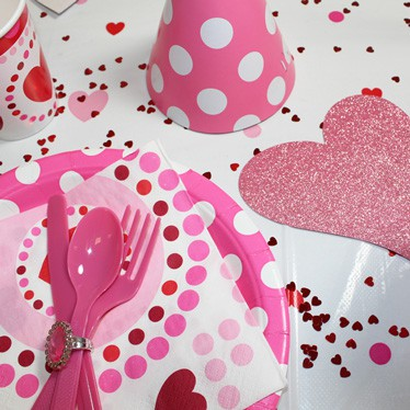 Radiant Hearts Party Supplies
