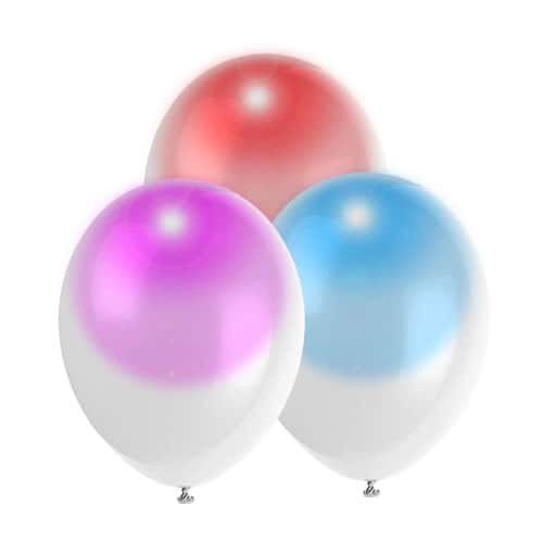 Magic Glow Light Up Balloons - 30cm - Pack of 3