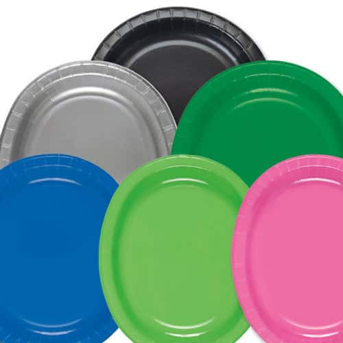 Oval Party Plate