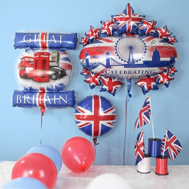 Queen's Birthday Party Balloons