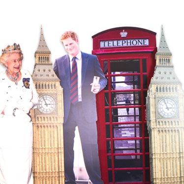 Queen's Birthday Lifesize Cardboard Cutouts