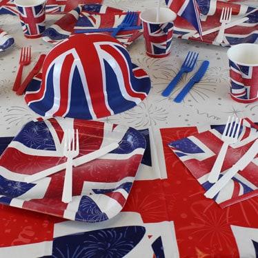 Queen's Birthday Tableware
