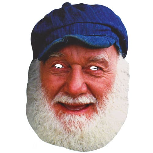 Uncle Albert Cardboard Face Mask Product Image