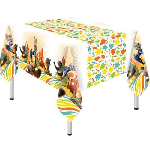 Zootropolis Plastic Tablecover 180cm x 120cm
