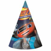 Blaze  Party Cone Party Hats – Pack of 8