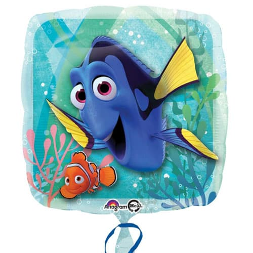Finding Dory Square Foil Helium Balloon 43cm / 17Inch