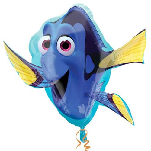 Finding Dory Supershape Foil Helium Balloon 76cm / 30Inch Product Image