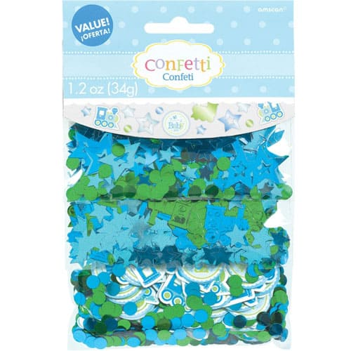 Welcome Baby Boy Confetti 34gram Pack of 3