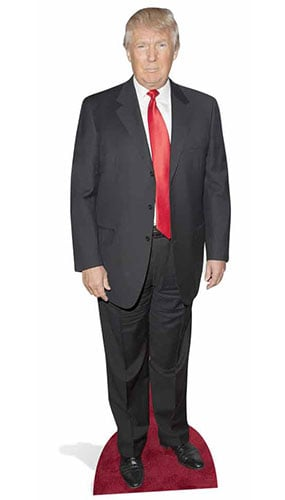 Donald Trump Lifesize Cardboard Cutout - 186cm Product Gallery Image