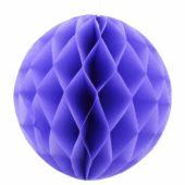 Lilac Honeycomb Hanging Decoration Ball – 20cm