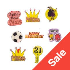 Badges Sale and Clearance
