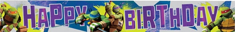 Teenage Mutant Ninja Turtles Foil Banner - 450cm