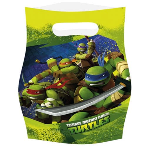 Teenage Mutant Ninja Turtles Loot Bag - Pack of 6 Product Image