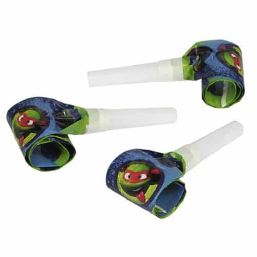 Teenage Mutant Ninja Turtles Party Blowouts - Pack of 6
