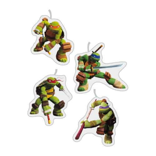 Teenage Mutant Ninja Turtles Party Candles - Pack of 4