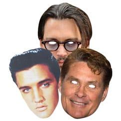 American Celebrity Masks