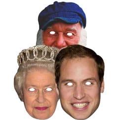 British Celebrity Masks