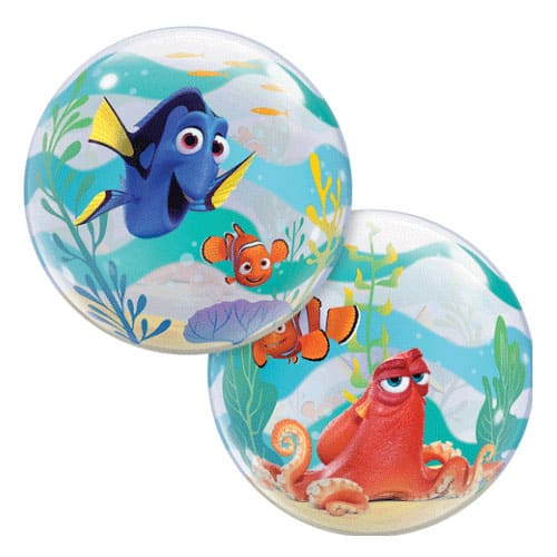 Finding Dory Bubble Helium Qualatex Balloon 56cm / 22 in