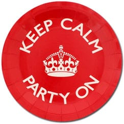 Keep Calm Party Supplies