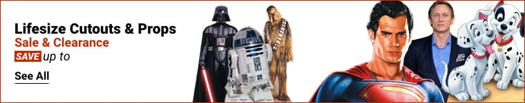 Life Size Cutouts & Props Sale and Clearance