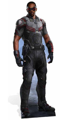 Marvel Civil War Falcon Cardboard Cutout - 174cm Product Gallery Image