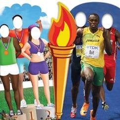 World Sports Cardboard Cutouts
