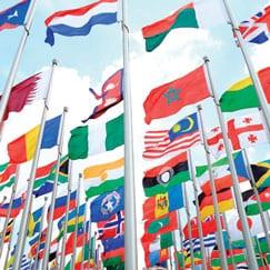 International Flags & Bunting
