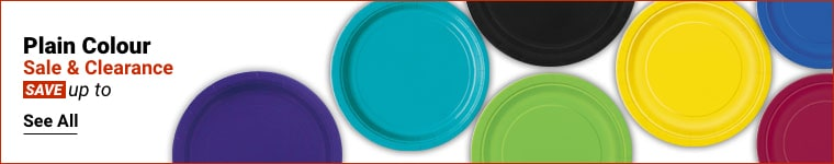 Plain Colour Tableware Sale and Clearance