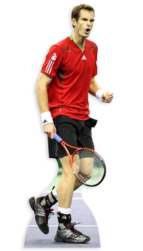Andy Murray Lifesize Cardboard Cutout - 185 cm Product Image