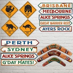 Australia Party Cutouts