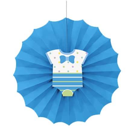 baby-shower-blue-decorative-fan-30cm-product-image