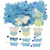 Baby Shower Blue Dots Confetti 14gms