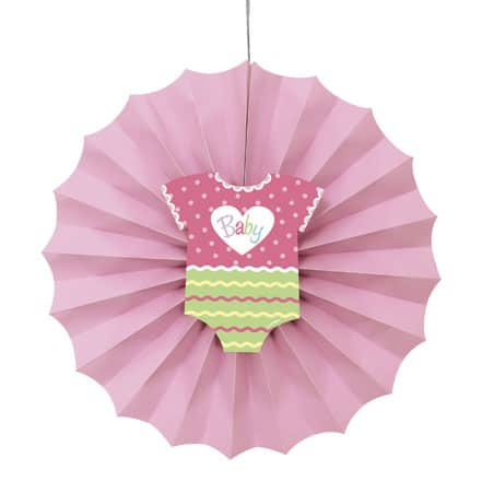 baby-shower-pink-decorative-fan-30cm-product-image