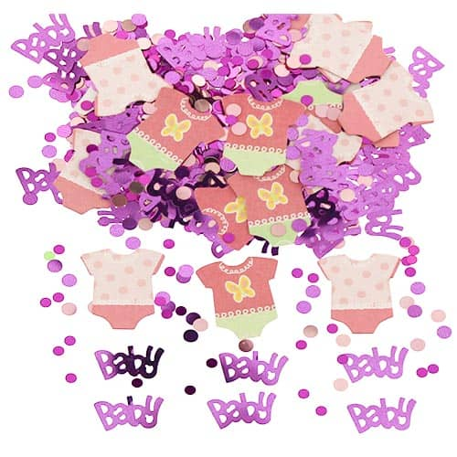 Baby Shower Pink Dots Confetti 14gms