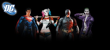 DC Comics Lifesize Cardboard Cutouts